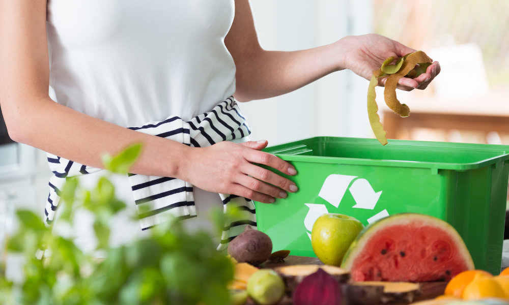 Home Composting to Reduce Food Waste